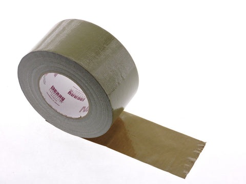 "NASHUA 2280 9 mil 3"" Olive Cloth Duct Tape Water UV Tear Resistant 60yd USA Made"