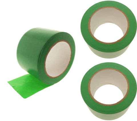 "3x 3"" Light Green Rubber Vinyl Tape Electrical Sealing Floor OSHA Safety Marking"