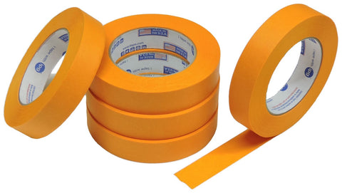 "5x IPG 1"" Orange Clean Release Fine Line Razor Precision Painters Masking Tape"