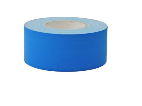 "3"" Light Blue Gaffers Tape Floor Stage Show Audio Video Gaff Cord Hold Down 60yd"