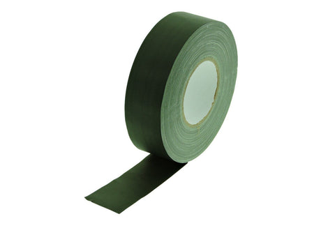 "2"" Dark Olive Gaffers Tape Floor Stage Show Audio Video Gaff Cord Hold Down 60yd"
