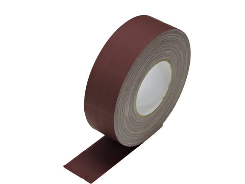 "2"" Burgundy Gaffers Tape Floor Stage Show Audio Video Gaff Cord Hold Down 60yd"