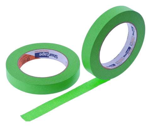 2x 3/4 Light Green Painters Masking Tape Painting Art Scrapbooking School Office