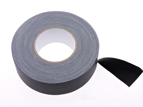 "2pk 2"" Floor Stage Show Audio Cloth Gaff Gaffer Black Gaffers Tape 180' 60 yd"