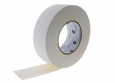 "2pk 2"" Floor Stage Show Audio Cloth Matte Gaffer White Gaffers Tape 180' 55 yd"