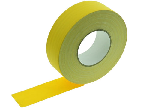 "2"" Yellow Gaffers Tape Floor Stage Show Audio Video Gaff Cord Hold Down 60yd"