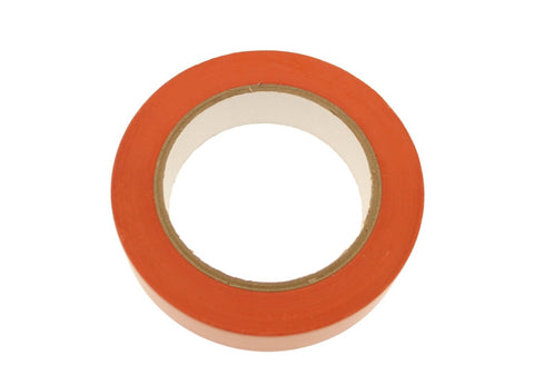"1"" Orange Removable Adhesive PVC Striping Vinyl Electrical Marking Floor Tape"