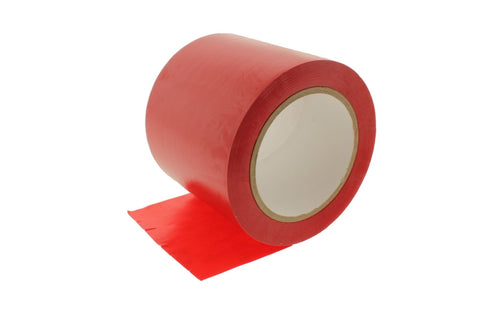 "4"" Red Insulated Adhesive PVC Pin Striping Vinyl Electrical Tape 36 yard"