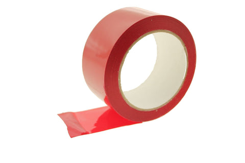 "3x 2"" Red House wrap Sheathing Tape Building Contractor Sealing Seaming to Tyvek"