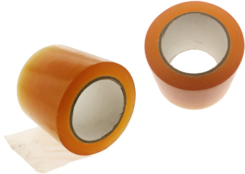 "2x 4"" Clear Insulated Adhesive PVC Pin Striping Vinyl Electrical Tape 36 yard"