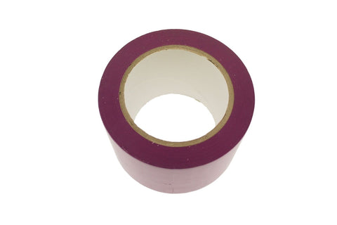 "3"" Purple PVC Rubber Vinyl Tape Electrical Sealing Floor OSHA Safety Marking 36y"
