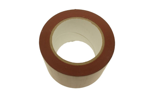 "3"" Brown PVC Rubber Vinyl Tape Electrical Sealing Floor OSHA Safety Marking 36y"