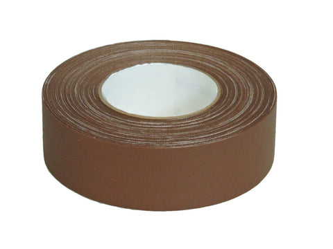 "2"" Brown Gaffers Tape Floor Stage Show Audio Video Cord Carpet Hold Down 60yd"