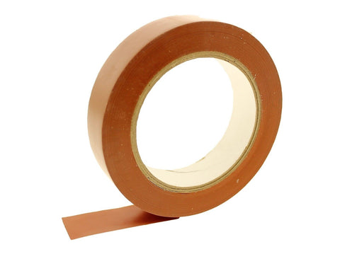 "1"" Brown Removable Adhesive PVC Striping Vinyl Electrical Marking Floor Tape"