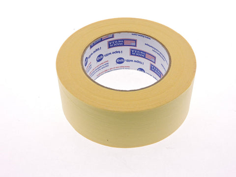 "High Temperature 2"" IPG Paint Bake Heat Resistant Yellow Painters Masking Tape"