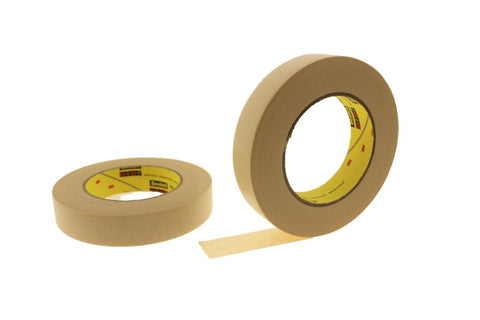 "2pk QUALITY USA MADE 1"" High Performance Cream Masking Trim Edge Tape EZ REMOVAL"