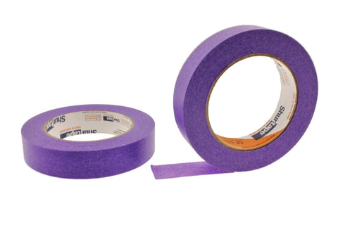 "2x 1"" Neon Purple Painters Masking Tape Painting Craft Scrapbooking School Home"