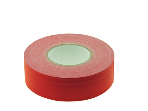 "2"" Red Gaffers Tape Floor Stage Show Audio Video Gaff Cord Hold Down 60yd"
