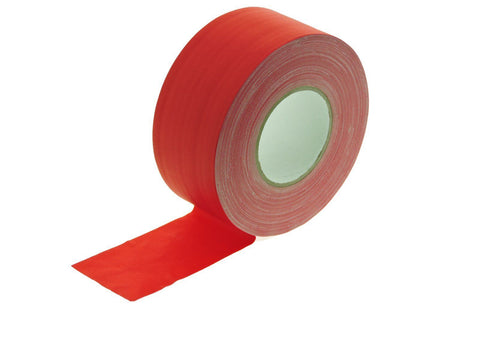 "3"" Red Gaffers Tape Floor Stage Show Audio Video Gaff Cord Hold Down 60yd"