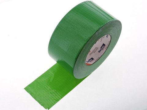 "ShurTape PC600 9 mil 3"" Green Cloth Duct Tape Water UV Tear Resistant 60yd USA"