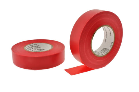 "3/4"" .75 Red Heavy Electrical Tape Wiring Labeling PVC Vinyl Contractor"