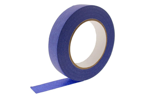 "2x 1"" Blue Painters Masking Tape Walls Trim Floor Auto Glass UV Outdoor 21 Day"