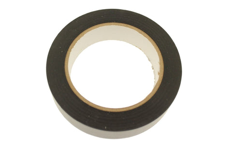 "1"" Black Removable Adhesive PVC Striping Vinyl Electrical Marking Floor Tape"