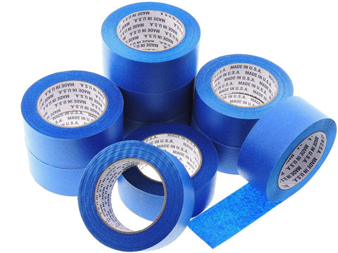 10x 2 in inch 60 yd USA Premium Blue Painters Tape Paint Masking No Residue