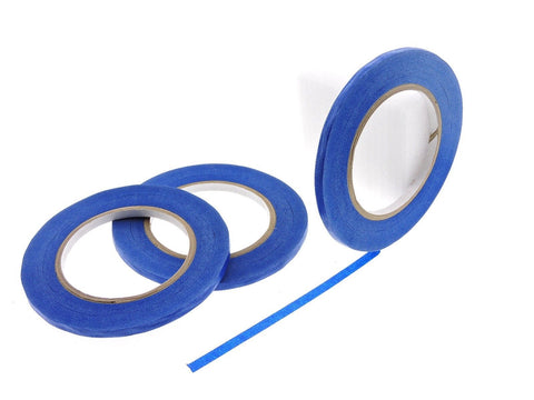 "3pk 1/4"" inch Blue Painters Tape Masking Trim 21 Day Clean Release USA MADE 60yd"