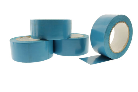 "4pk 2"" AQUA Blue Insulated Adhesive PVC Pin Striping Vinyl Electrical Tape 36yd"