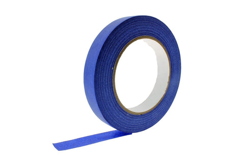 "6x 3/4"" inch Blue Painters Tape Masking Trim 21 Day Clean Release USA MADE 60yd"