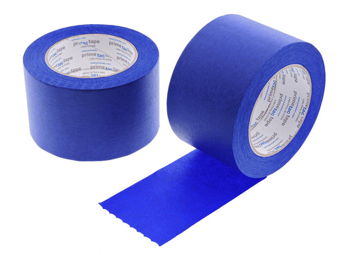 "2 QUALITY USA MADE 3"" Blue Painters Masking Trim Edge Tape 180' 60 yd roll"