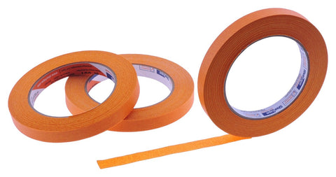 3x 1/2 Orange Painters Masking Tape Painting Crafts Scrapbooking School Office