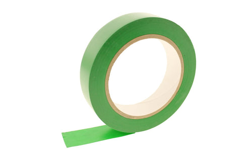 "1"" GREEN Removable Adhesive PVC Striping Vinyl Electrical Marking Floor Tape"