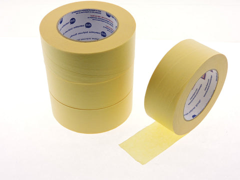 "4pk QUALITY USA MADE 2"" IPG Lemon Yellow Painters Masking Trim Edge Tape 60 yd"