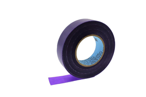 "10pk 3/4"" .75 PURPLE Heavy Electrical Tape Wiring Labeling PVC Vinyl Contractor"