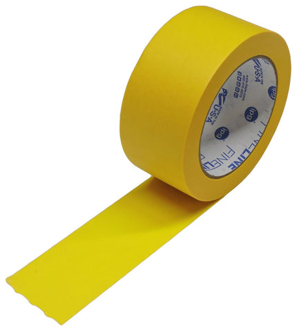 "1x IPG 2"" Yellow Clean Release Fine Line Razor Precision Painters Masking Tape"