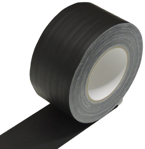 "3"" Black Gaffers Tape Floor Stage Show Audio Video Gaff Cord Hold Down 45yd"