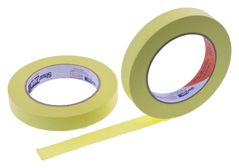 2x 3/4 Yellow Painters Masking Tape Painting Crafts Scrapbooking School Office