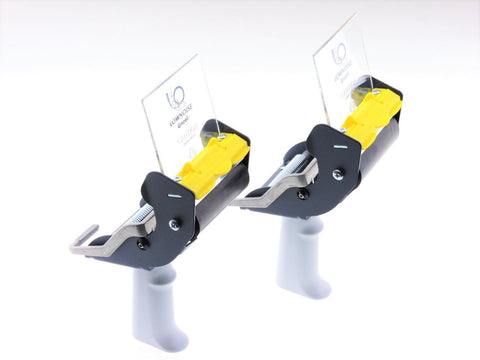 "2x 3"" Packing Tape Dispenser EASY Side Load Mousetrap Packaging Carton Shipping"
