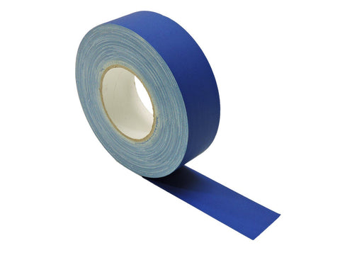 "2"" Navy Blue Gaffers Tape Floor Stage Show Audio Video Gaff Cord Hold Down 60yd"