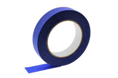 "6 QUALITY USA MADE 1"" Blue Painters Masking Trim Edge Tape 180' 60 yd roll"