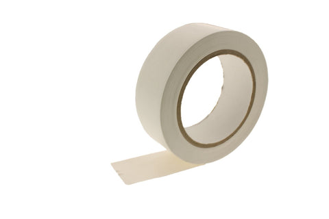 2x 1.5 WHITE Removable Adhesive PVC Striping Vinyl Electrical Marking Floor Tape