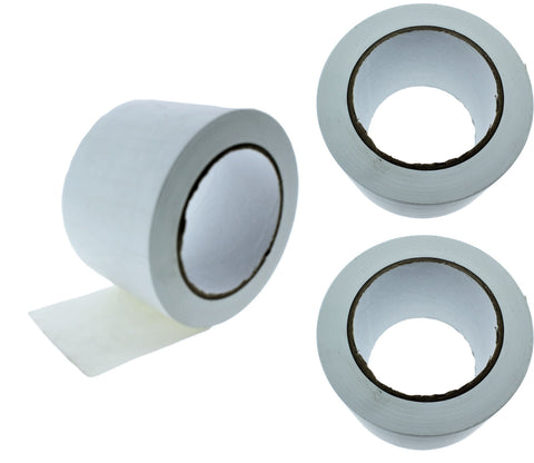 "3x 3"" White PVC Rubber Vinyl Tape Electrical Sealing Floor OSHA Safety Marking"