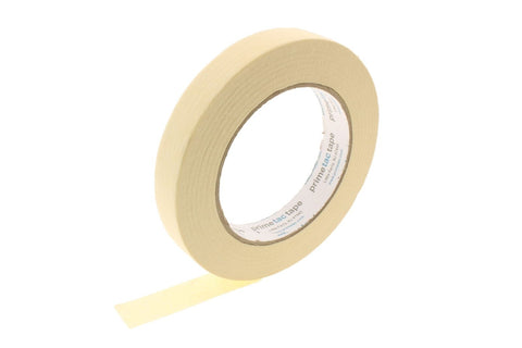 "*SALE* 4pk HIGH TEMPERATURE .75"" Cream Painters Masking Trim Edge Tape 60yd"