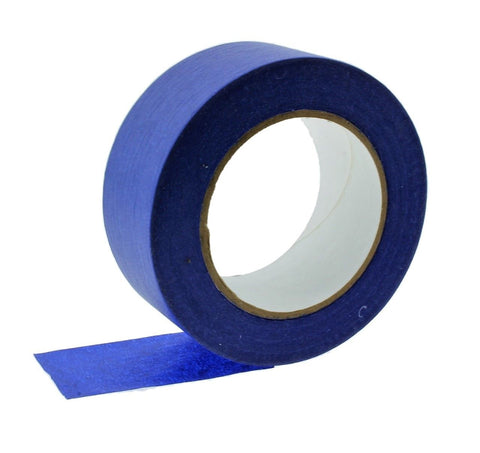 "2x 1.5"" Blue Painters Masking Tape Walls Trim Floor Auto Glass UV Outdoor 21 Day"