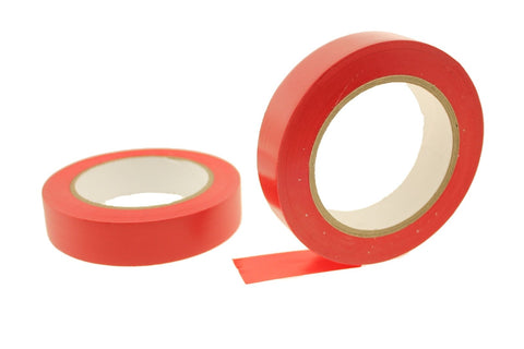 "2x 1"" RED Removable Adhesive Striping Vinyl Electrical Marking Floor Tape 36 yd"