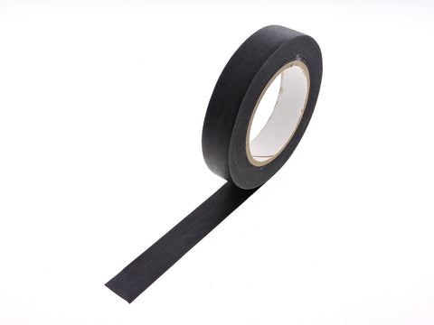 "2x 1"" Black Painters Masking Tape Painting Home Craft Scrapbooking School Office"