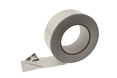 "4x 2"" HVAC Heating A/C Duct Sealing High Temp Adhesive Aluminum Foil Tape 50yd"
