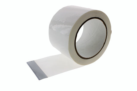 "3x 3"" White House wrap Sheathing Tape Building Contractor Sealing Seaming Tyvek"
